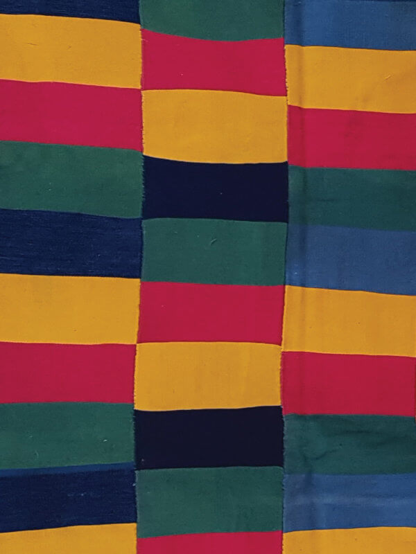 Ewe textile from the Volta region in Ghana