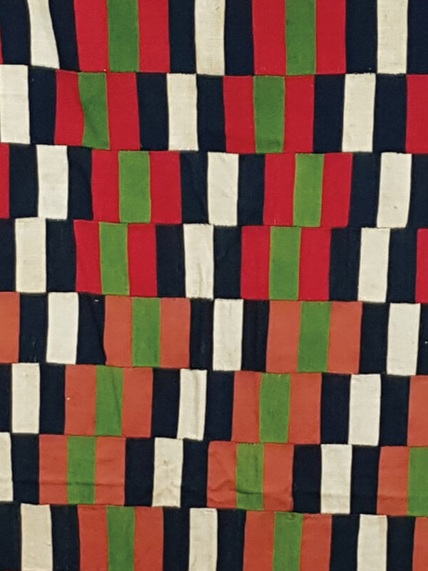 Cotton textile from the Ewe people of the Volta region in Ghana